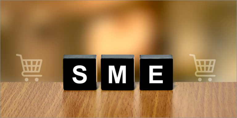 Less than 10% of SMEs offer their products on the internet