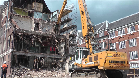 The Demolition Process